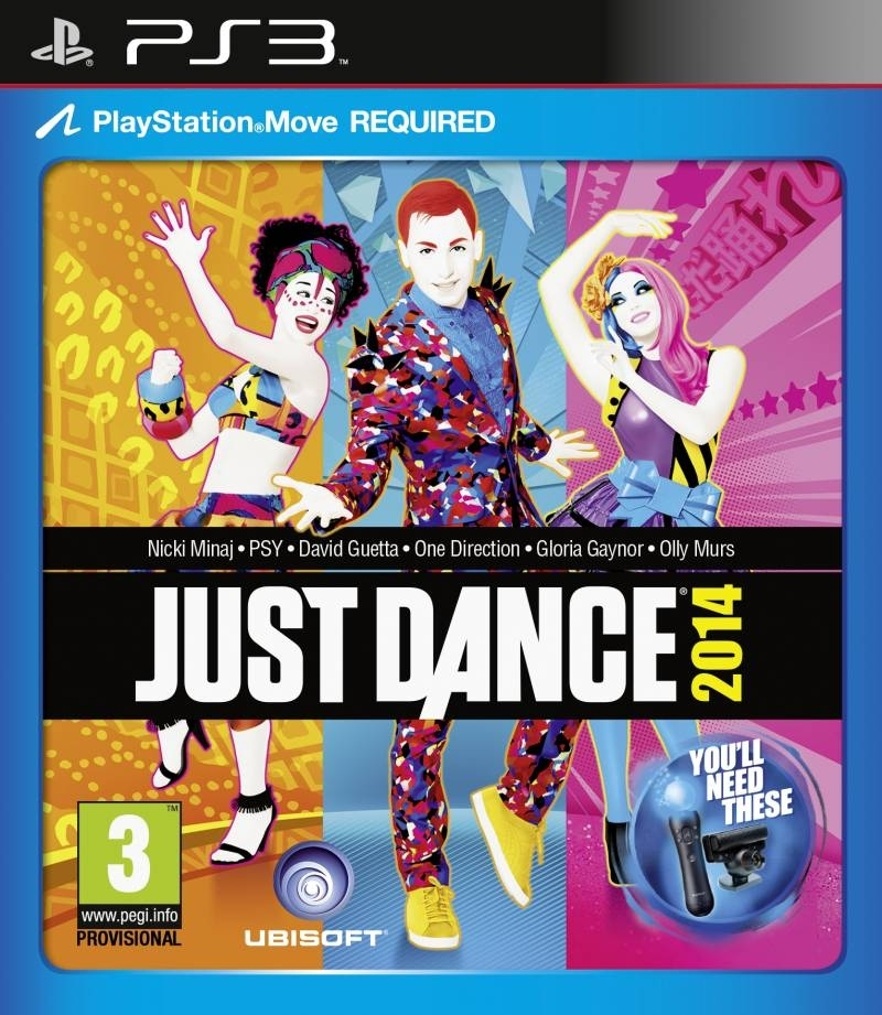 Just Dance 2014 PL Move (PS3)